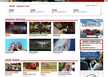Page d'accueil - Site web tele-mag.tv